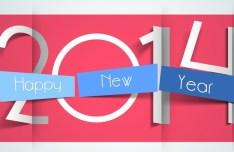 Creative Origami Happy New Year 2014
