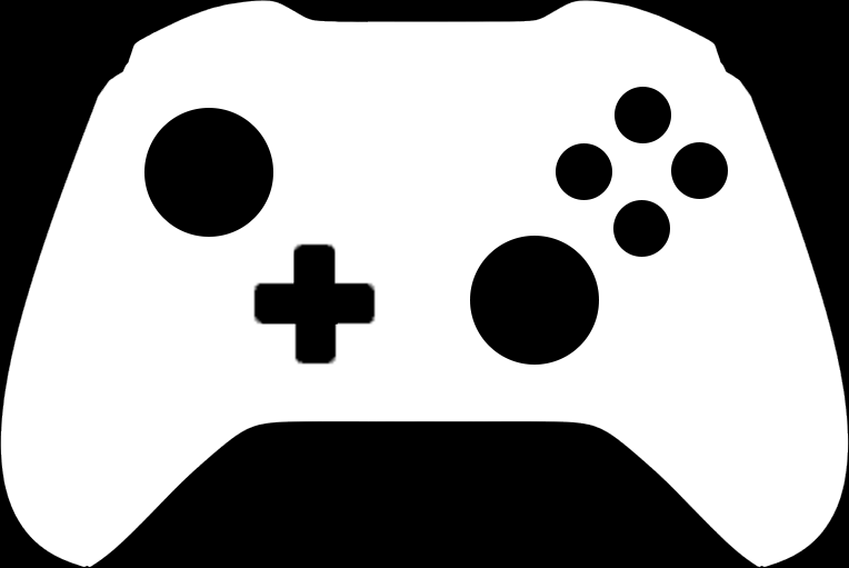 Free Xbox One Controller Silhouette Vector PSD - TitanUIXbox Controller Silhouette Image Cricut