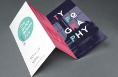 Tri Fold Brochure MockUp PSD