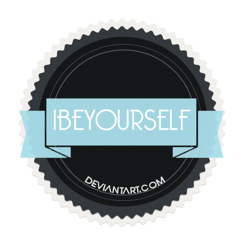 Simple Badge with Ribbon PSD