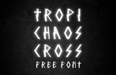 TropichaosCross Font