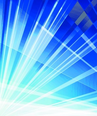 Blue Abstract Lines Vector Background 02