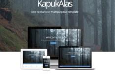 KapukAlas - Responsive Multipurpose Web Template PSD