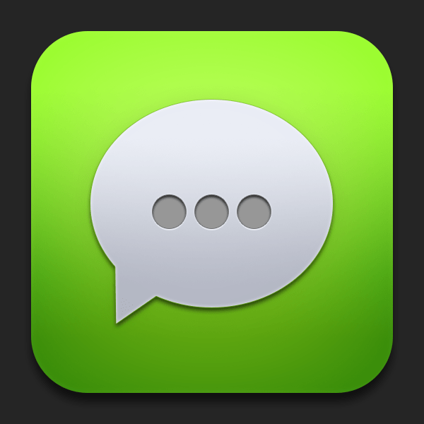 free ios chat app icon psd titanui. Black Bedroom Furniture Sets. Home Design Ideas
