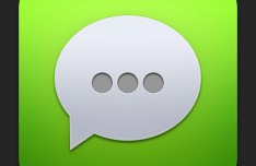 iOS Chat App Icon PSD