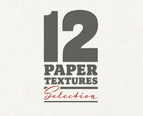 12 Selected Paper Textures