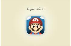 Super Mario Icon PSD