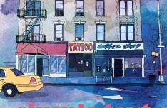 Sweet Town Vector Illustration 04