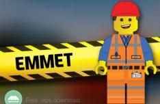 Emmet Lego Movie Vector