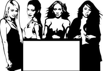 Fashion Women Silhouette