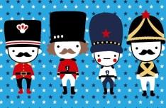 Cartoon British Soldiers