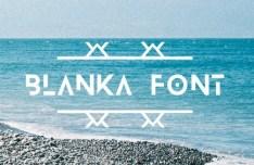 Blanka Font