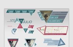 Fashion Triangle UI Kit