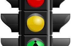 Glossy Traffic Signal Light Vector