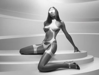 Vector Woman Sexy Body