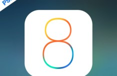 iOS 8 Official Logo PSD