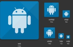 Android Launcher Icon Template PSD