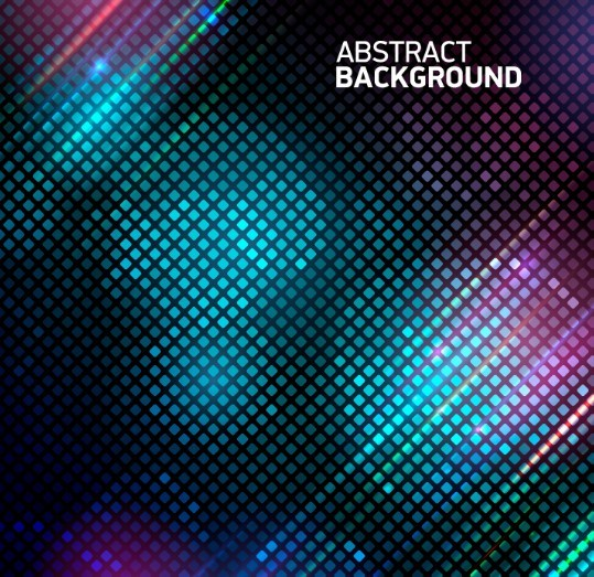 Abstract Blurred Mosaic Background Vector