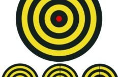 Bullseye Target Set Vector