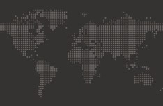 Dotted World Map Vector 01