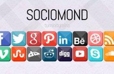 Sociomond Social Media Icon Set