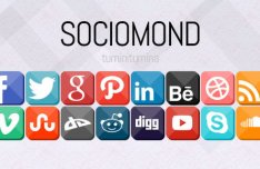 Sociomond Social Media Icon Set