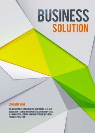 Business Geometry Background Vector
