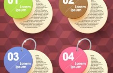 Chained Number Labels Vector