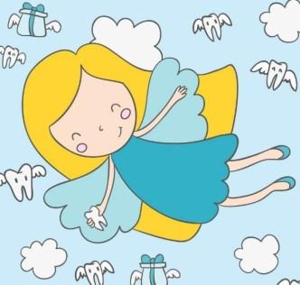 Cartoon Angel Girl Vector