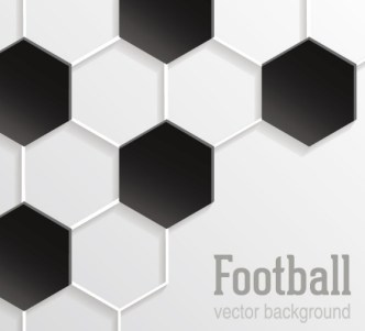 Football Pattern Background Vector