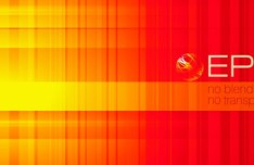 Bright Orange Abstract Background Vector 03