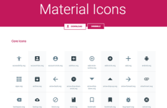 Material Icons Pack SVG