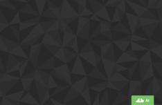 Dark Polygon Pattern Vector