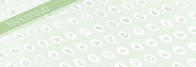 Global Network Social Icon Set (PSD+SVG)