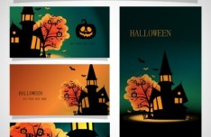 Halloween Design Kit Vector