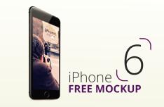 High Resolution iPhone 6 Mockup