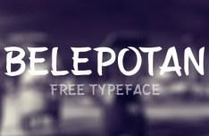 Belepotan Font