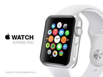Apple Watch 3D Object PSD