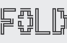 Fold Font