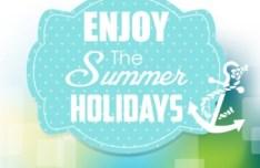 Fresh Enjoy Summer Holiday Design Vector
