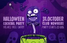 Halloween Poster Template Vector PSD