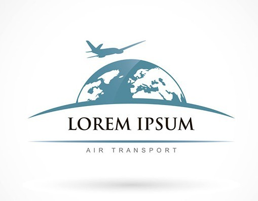Air Transport Logo Vector