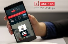 OnePlus One MockUps