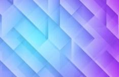 Purple Geometry Background Vector