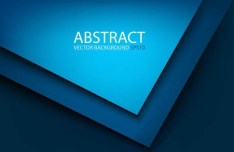 3D Abstract Shapes Background Vector 05