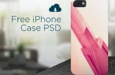 Beautiful iPhone Case Template Set PSD