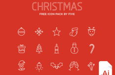 Christmas Icon Pack Vector