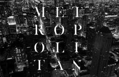 Metropolitan Display Typeface