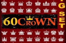 60 Crowns Pack Vector
