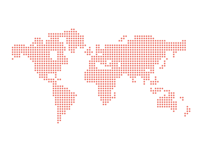 Free Dotted Vector World Map Vector - TitanUI